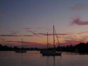 Sunset at Solomon's