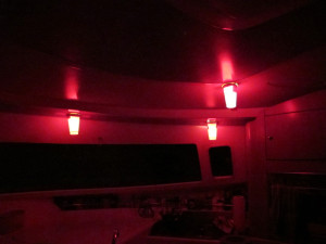 Our 'chinese lanterns' in the galley