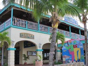 Leverick Bay resort with Pusser's store