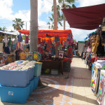 the market in Marigot