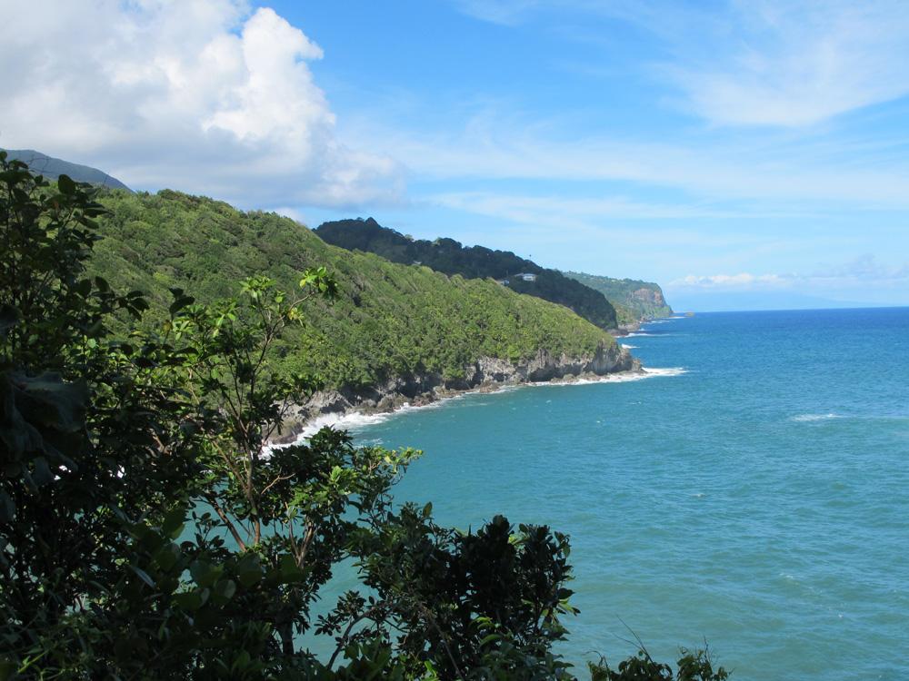 The east coast of the Nature Island