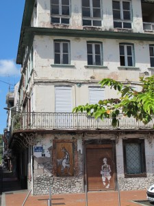 Shabby chic in Martinique