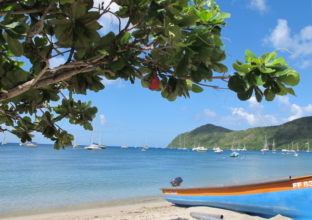 Grande Anse D'Arlet, very picturesque