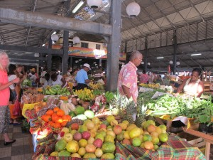 The markets in Fort de France