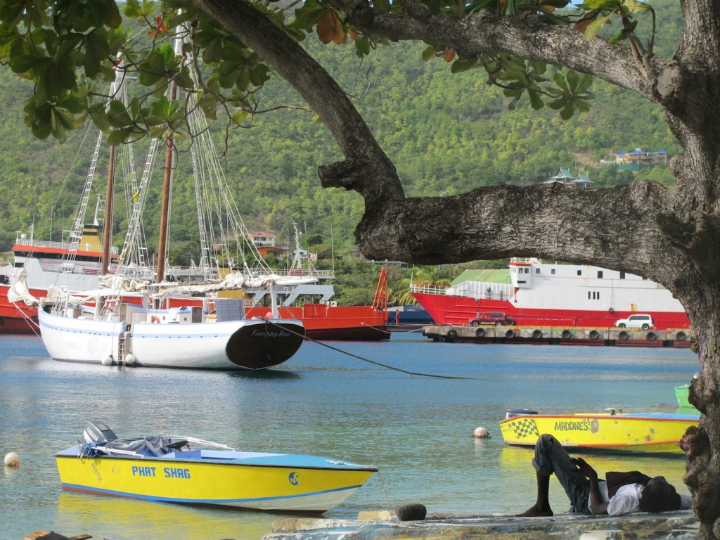 Life is pretty laid back in Bequia