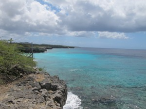 The beautiful north-west coast of Bonaire