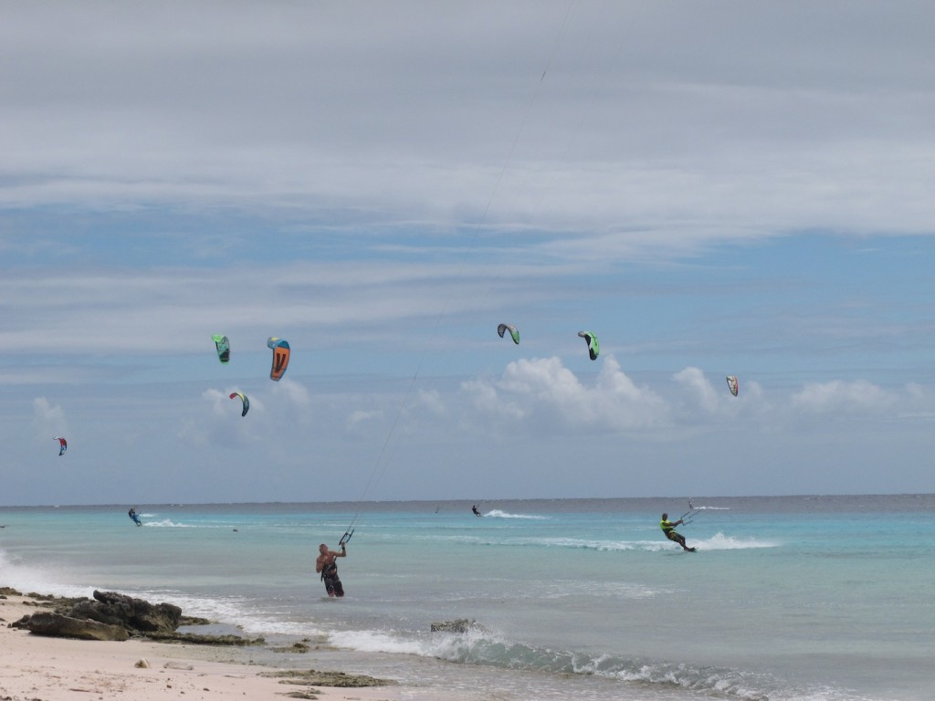 Kite-surfers heaven