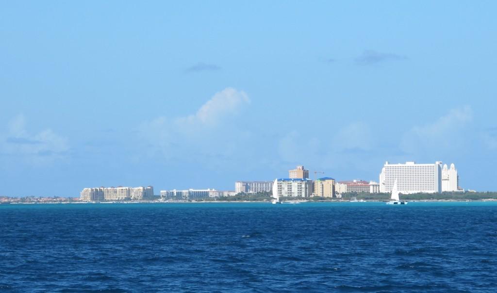 Goodbye to the big high rise hotels of Aruba