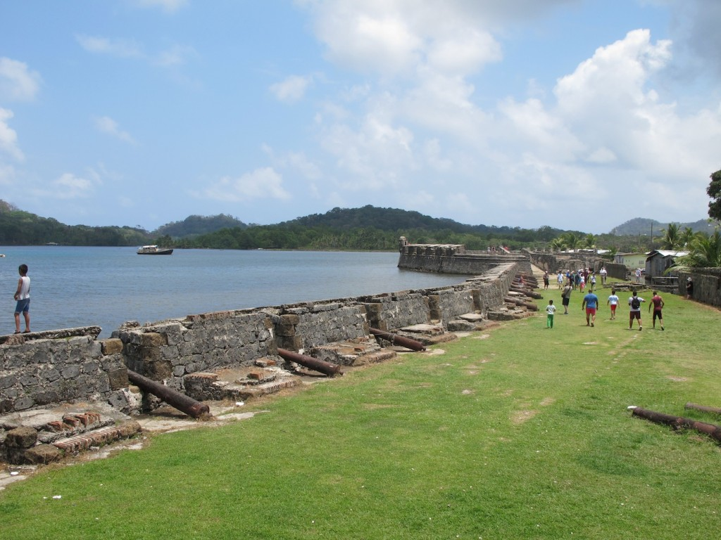 Fortifications at Portobelo