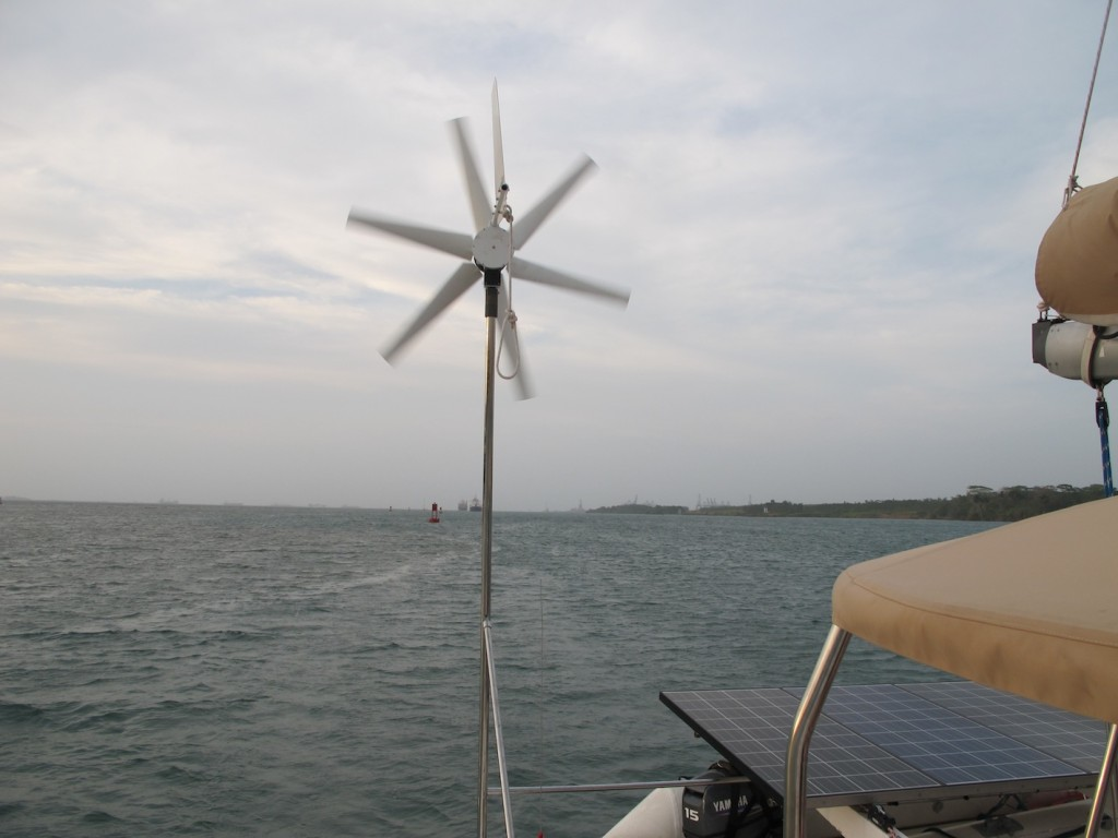 The non-generating wind generator