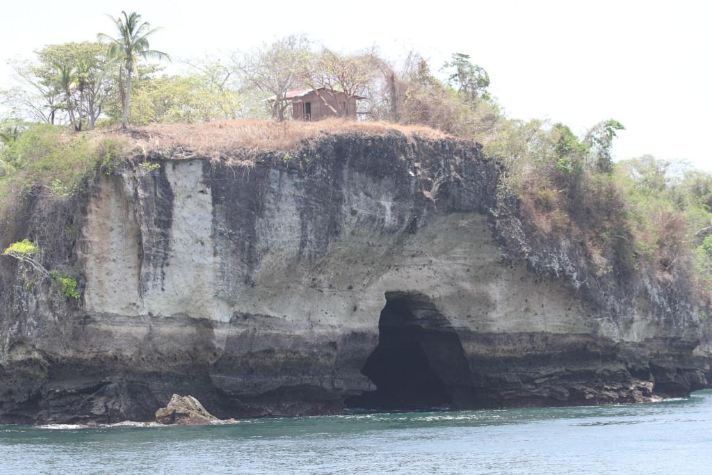 the fishing shack on Isla San Jose