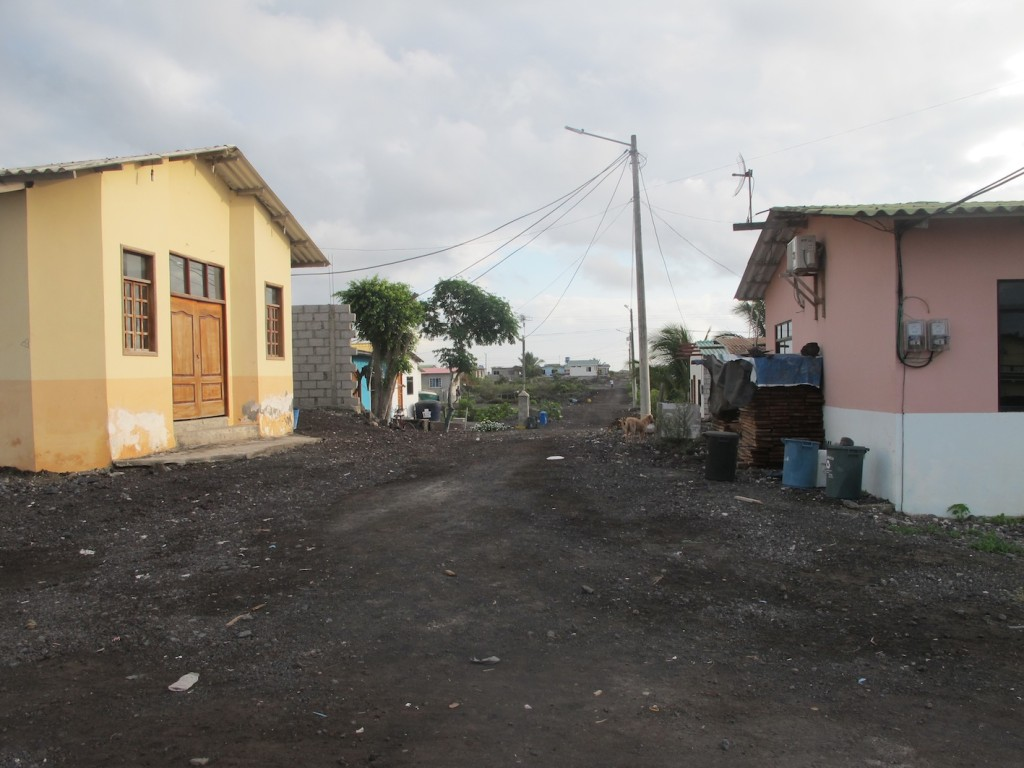 typical back street, Isabela