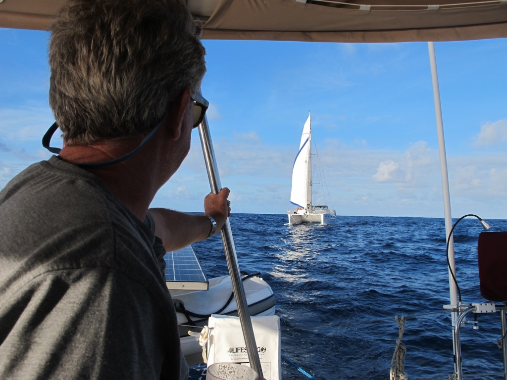 Rendezvous mid-ocean with Rehua