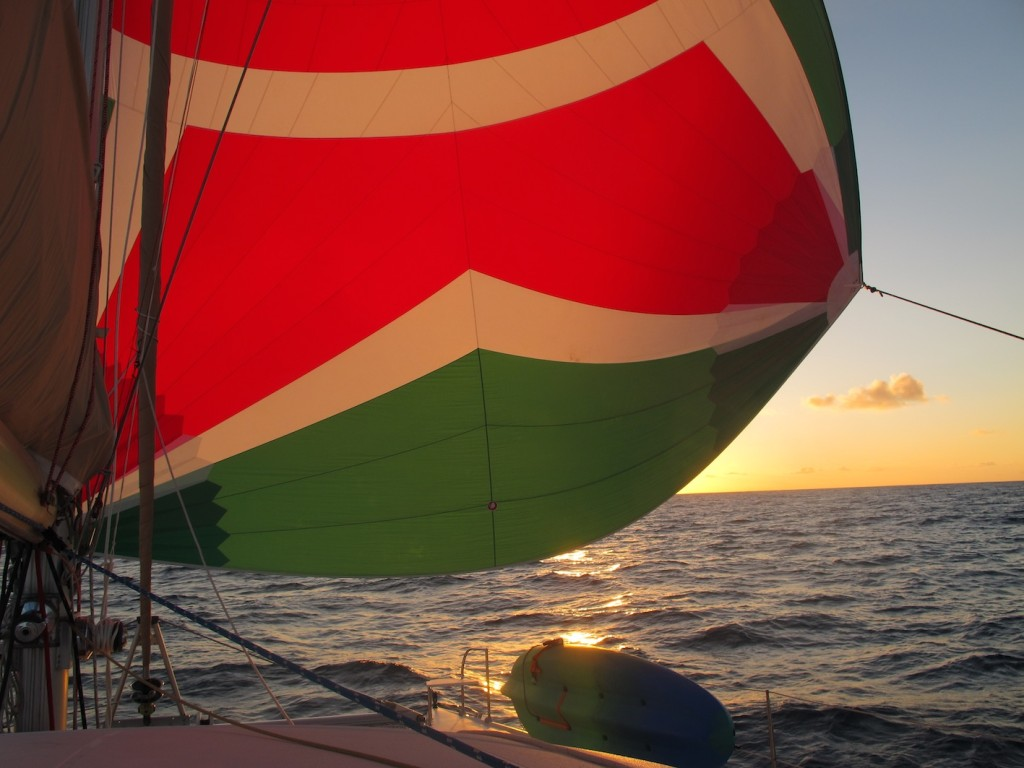 Into the sunset with Luigi still up