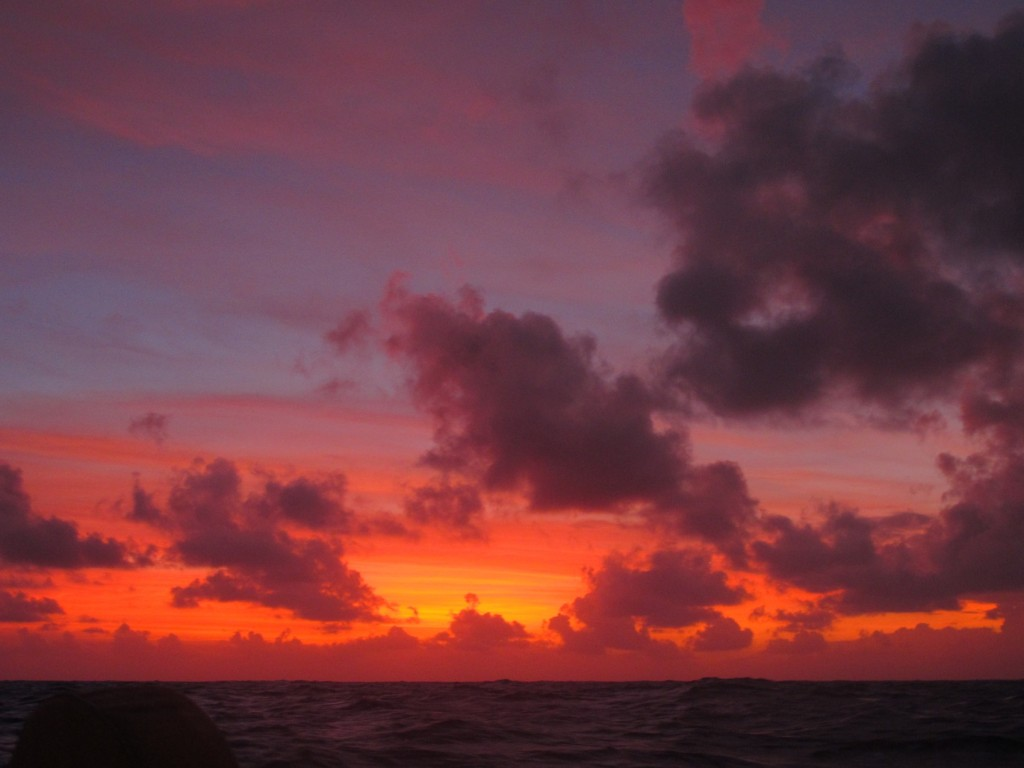 Another beautiful sunset at sea
