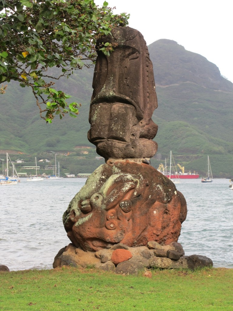 One of several Tikis in the foreshore park