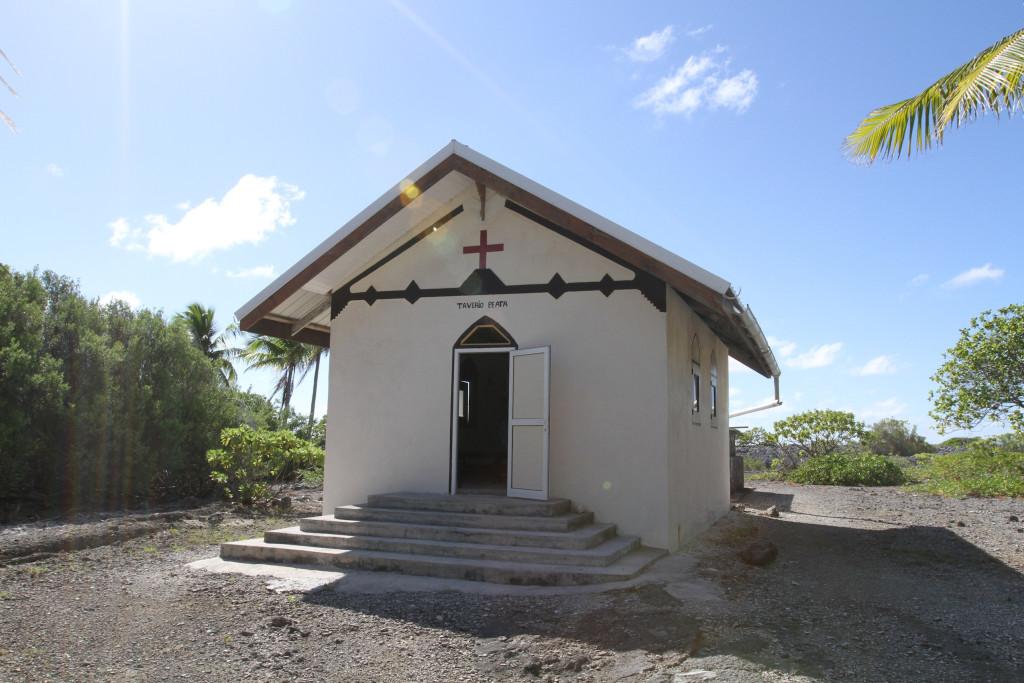 The church at Tahanea