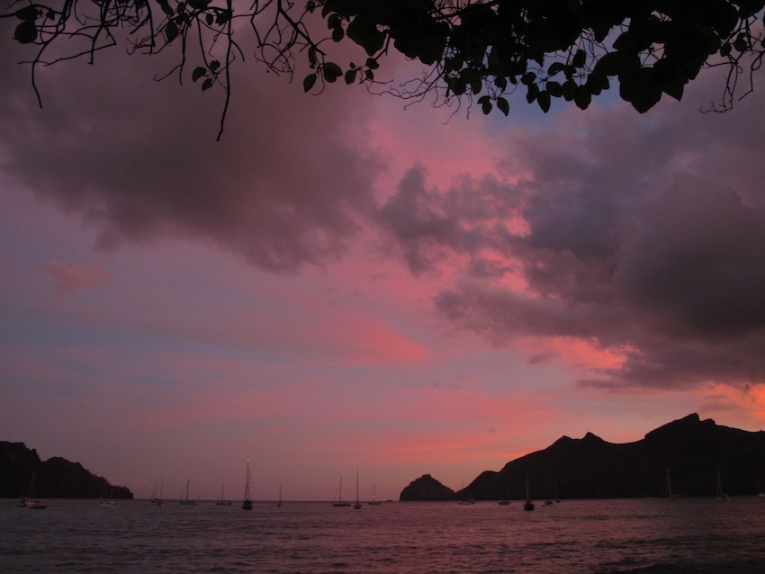 Goodbye Nuku Hiva and the Marquesas