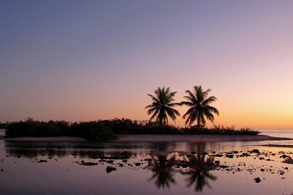 Beautiful Raroia, paradise on earth