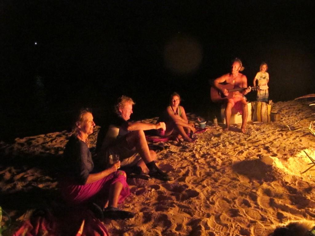 A bonfire, a beach, a guitar and good company. Perfect birthday!