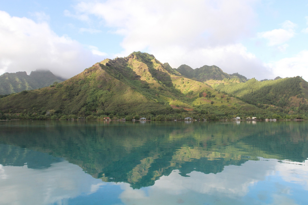 The north side of Moorea