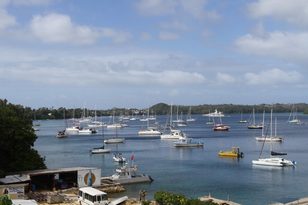 Nieafu Harbour in busier times