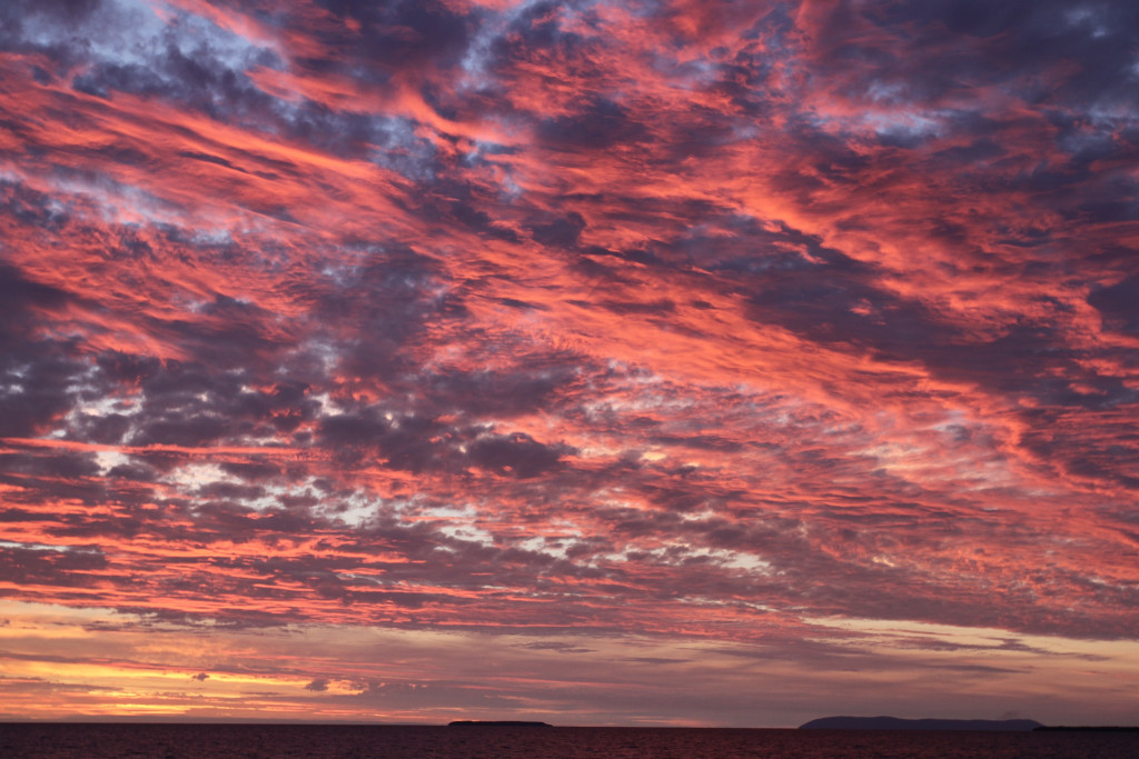 Ha'apai sunset