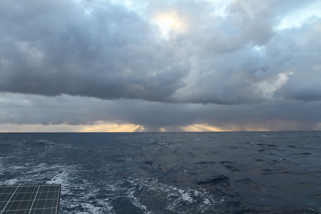 passing through the front on passage to New Zealand