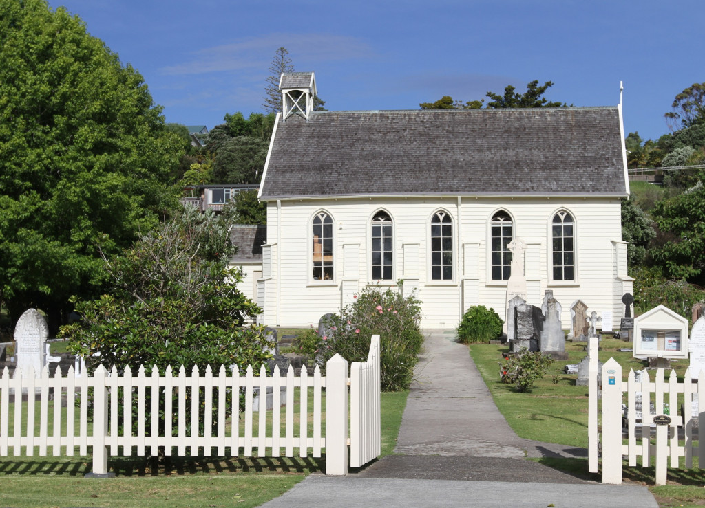 The oldest church on North Island is in Russell