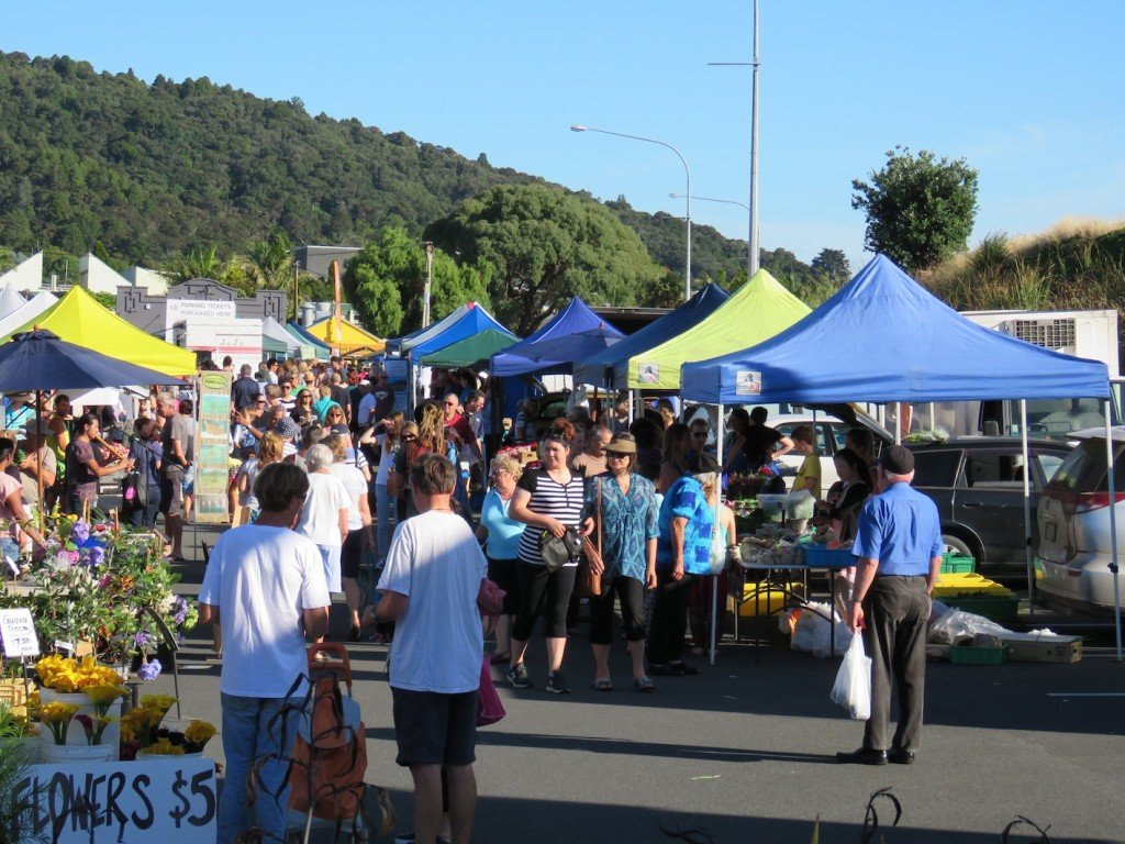 My favourite haunt on Saturday mornings - the Growers' Market
