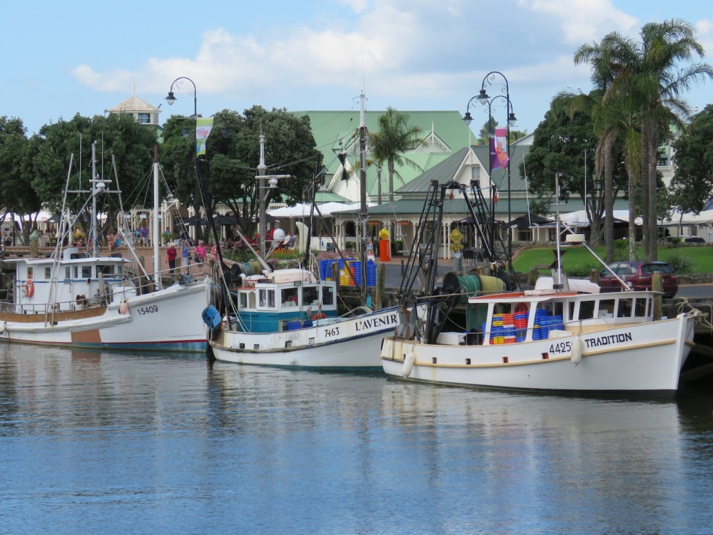 There's even a small fishing fleet in Whangarei