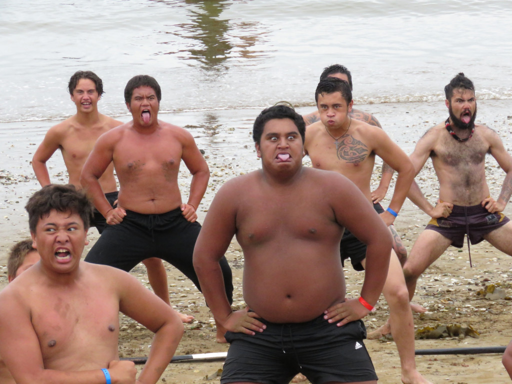 The local boys getting their Haka on