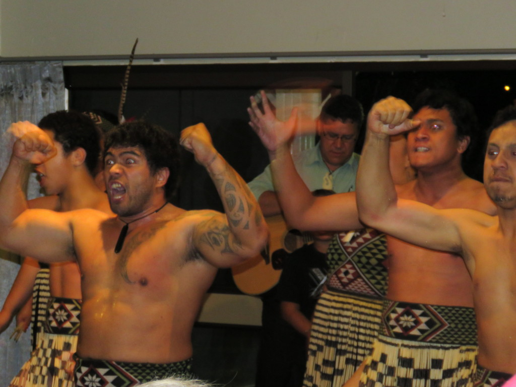 Topped off by a farewell Haka