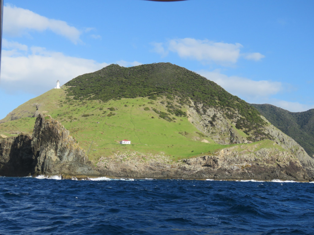 Cape Brett and lighthouse