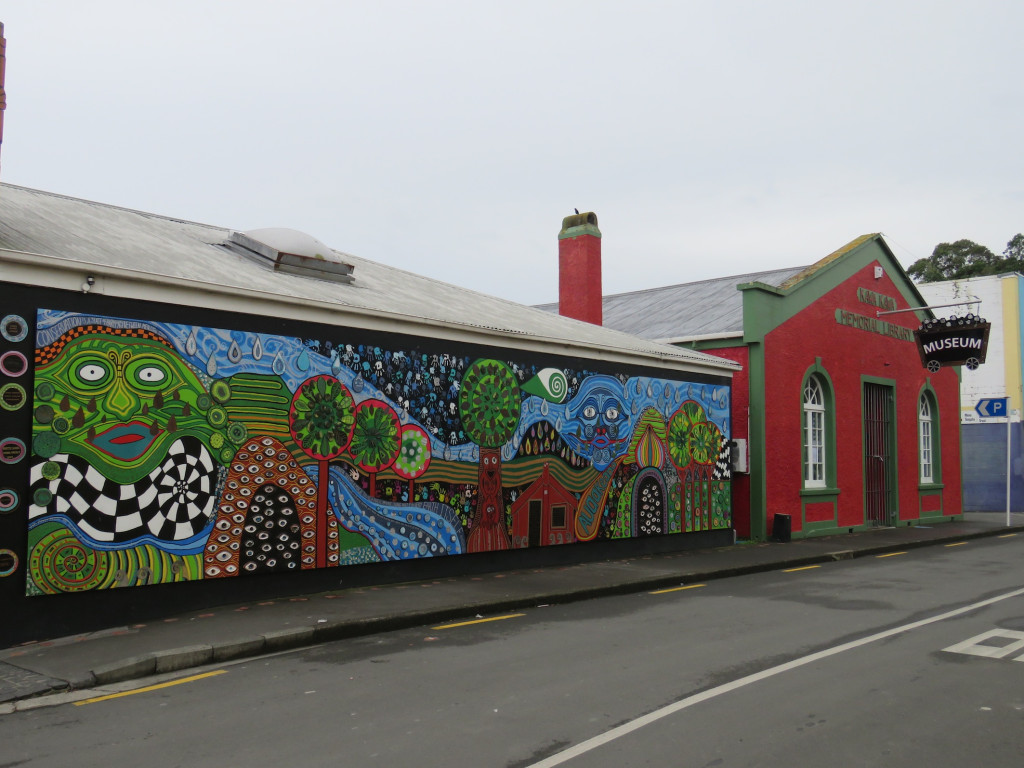 The mural and museum, Kawakawa
