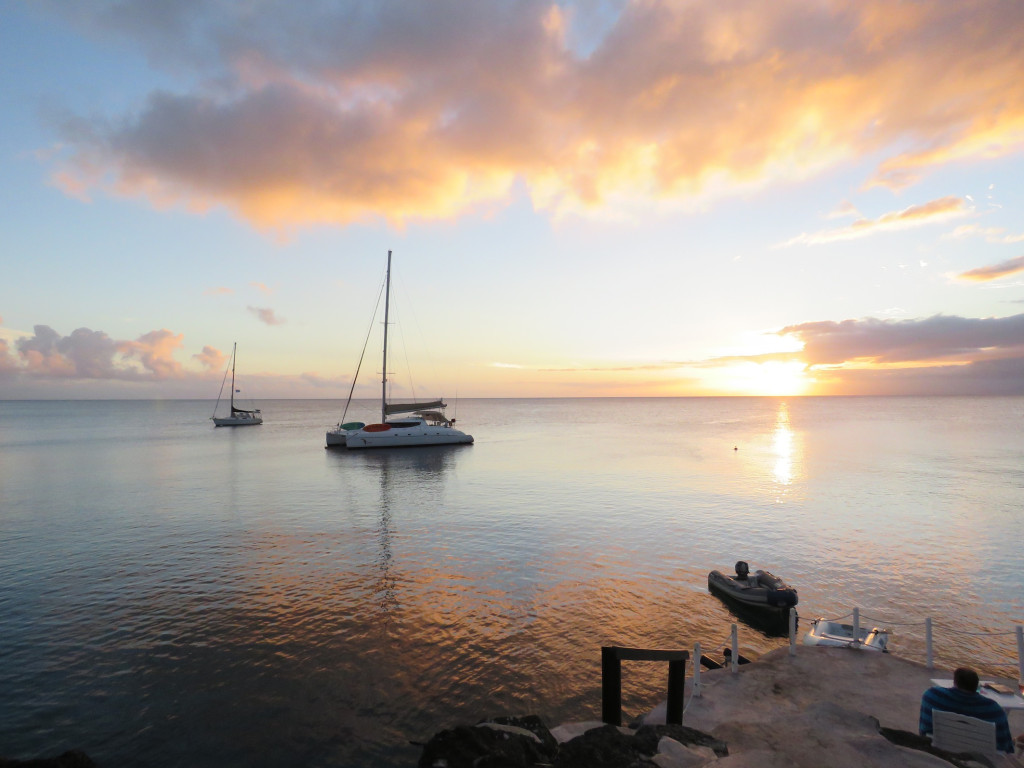 sundowners at Taveuni