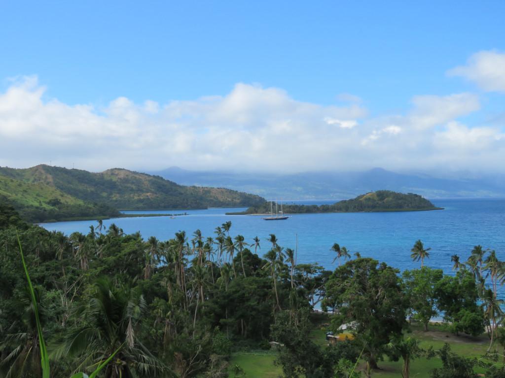 The view overlooking Viani Bay