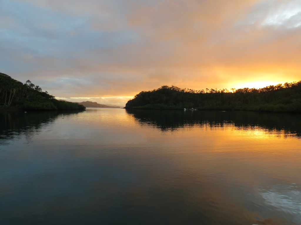 Dawn in Naqaiqai Creek