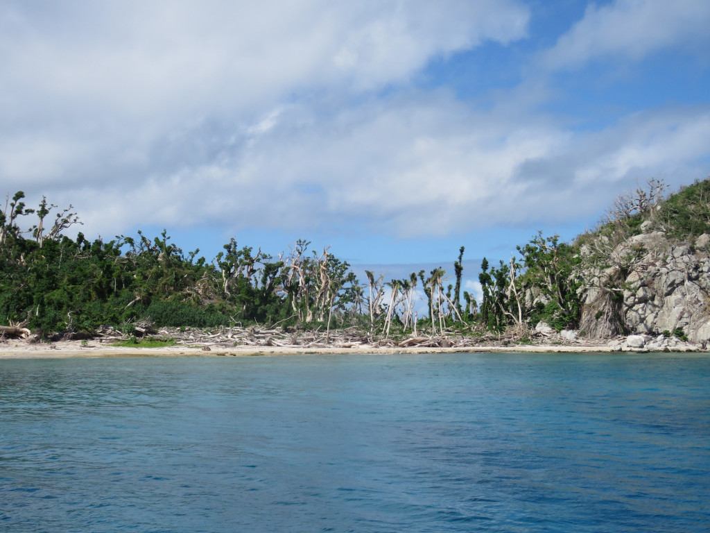 The destruction on Namena Island - the resort will be closed until November