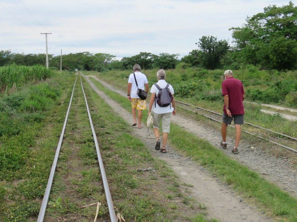 Walking the tracks with Marce and Jack