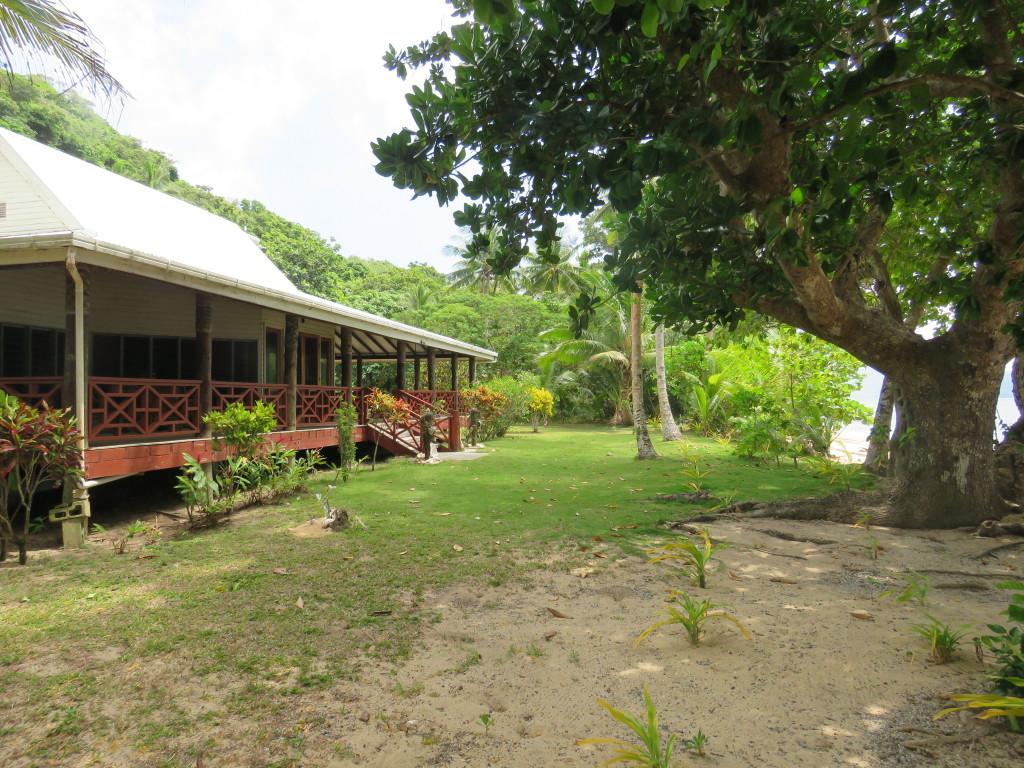 Ken's beachfront home