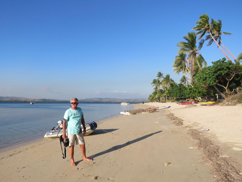 Man Friday on Robinson Crusoe Island