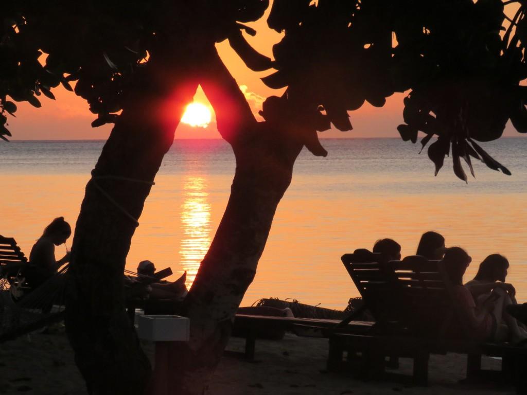 Sunset at Likuri Island