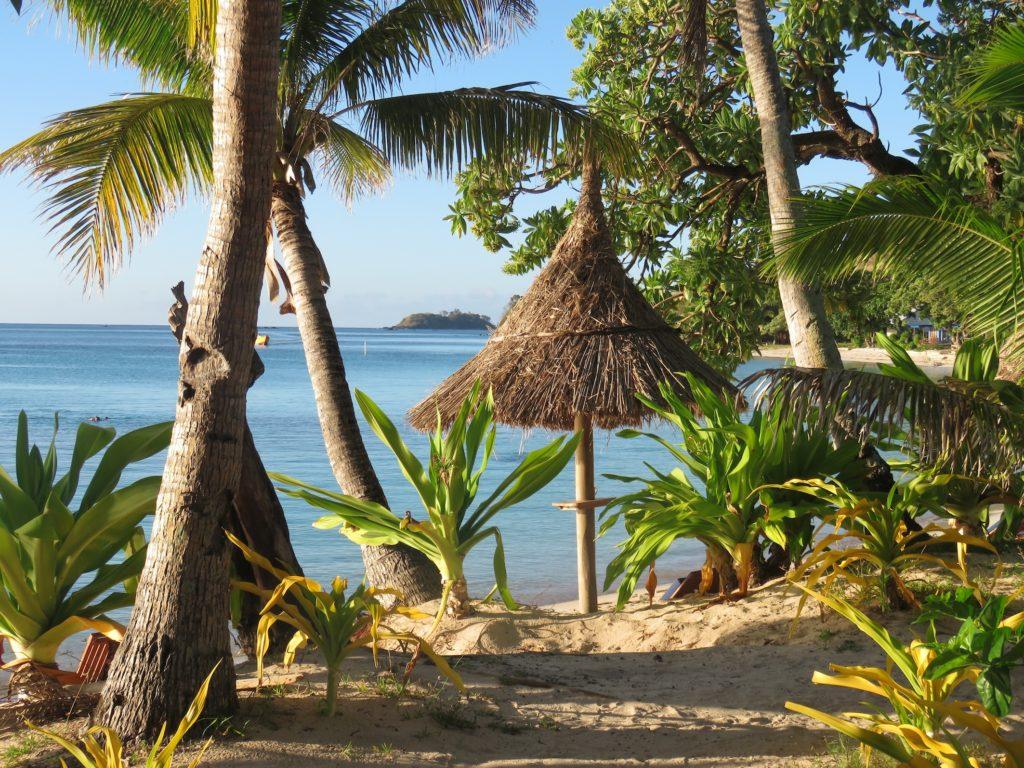 The pretty resort at Nacula Island