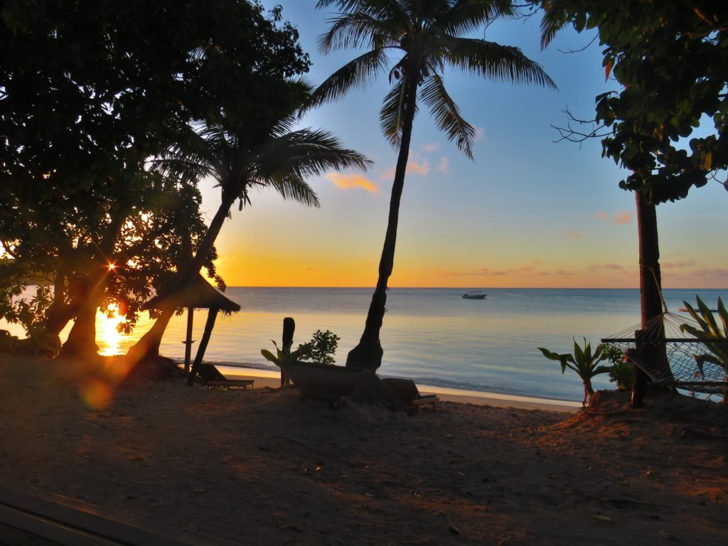 Sunset at Blue Lagoon Resort