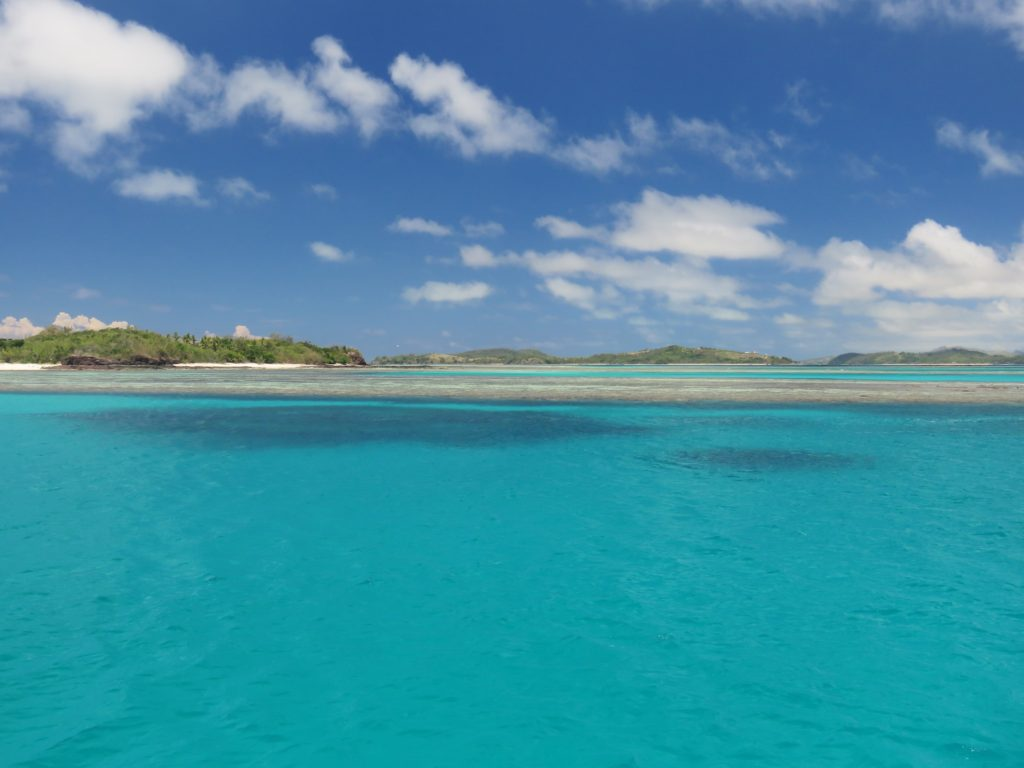 The 'other' Blue Lagoon at Nacula Island