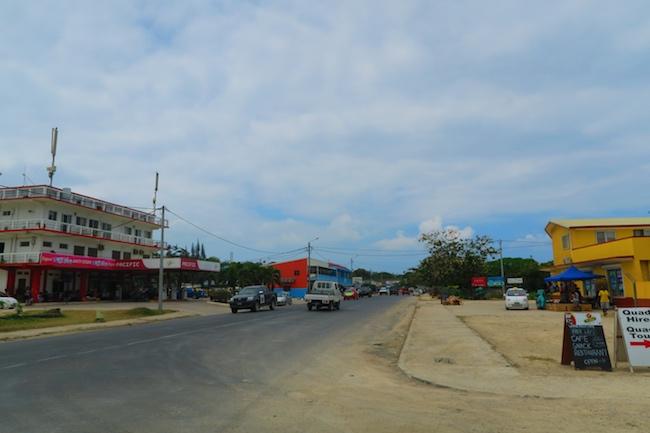 Main street, Luganville